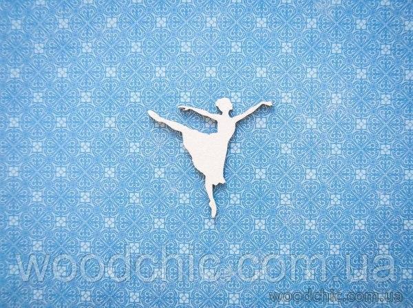 Чипборд Балерина