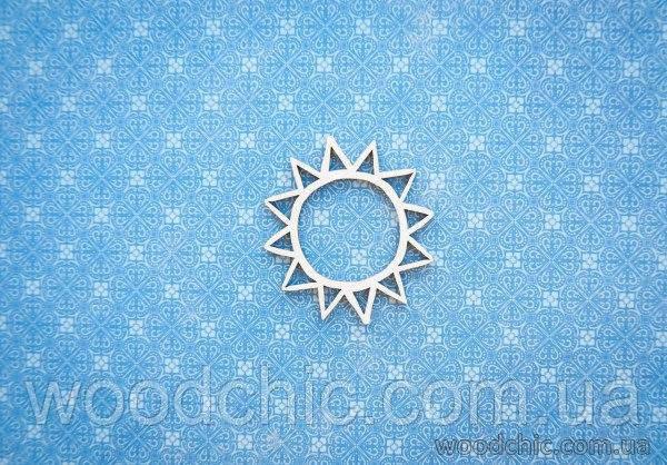 Чипборд Сонце
