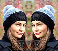 Женская шапка вязаная зимняя
