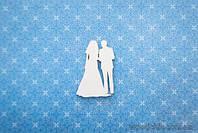 "Чипборд Пара ""невеста и жених"""