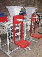 Механический фасовщик сухих смесей МФС-2 в клапанный мешок, 2 т/час
