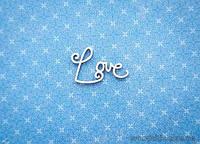 """Чипборд Надпись """"Love"""" 2"""