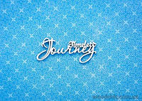 "Чипборд Надпись ""timeless Journey"""
