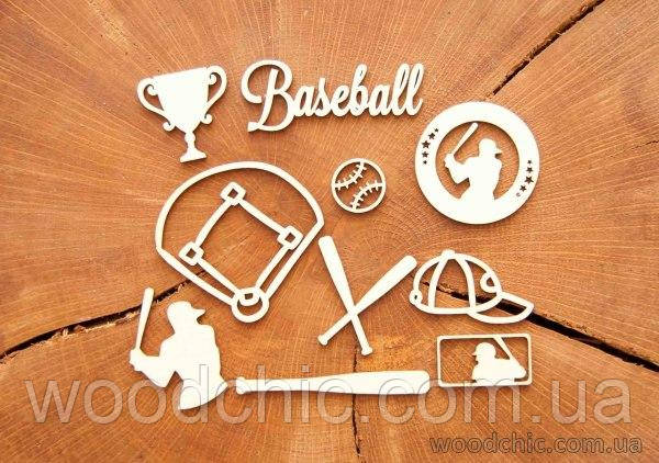 Набір Чипборд Baseball