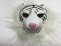 Маска Белый тигр паралон 30*23см