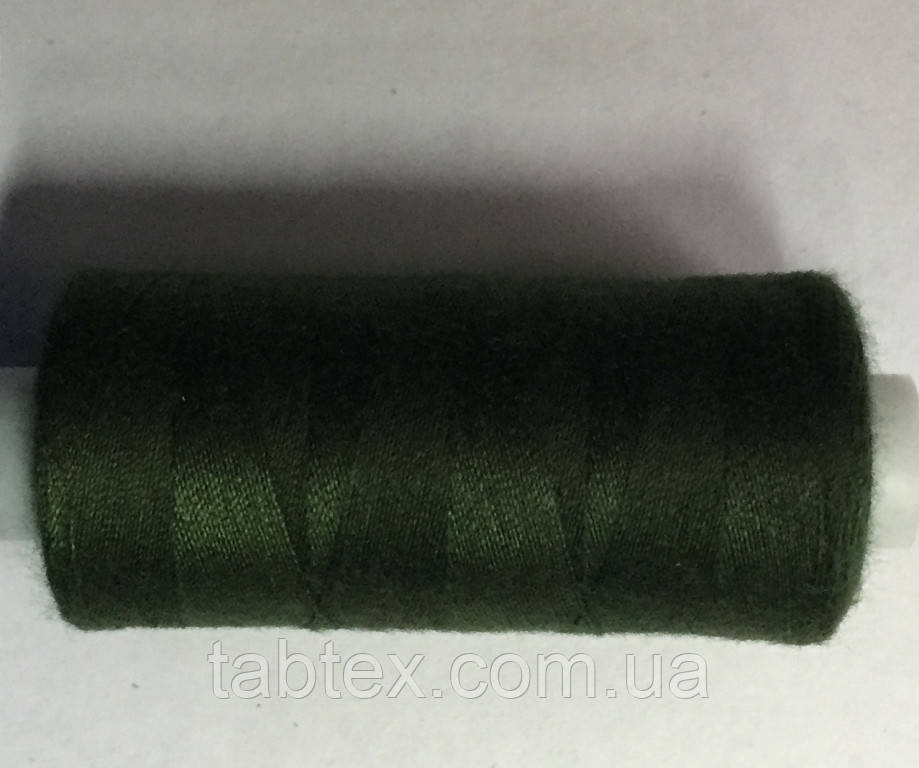 Швейна Нитка 40/2 400ярд. 335 D т. зелений.