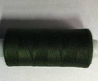 Нитка швейная 40/2 400ярд. D 335 т.зеленый.