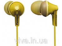 Наушники Panasonic RP-HJE125E-Y Yellow