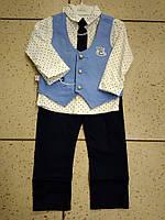 Детский нарядный костюм двойка Aras Kids Wear на мальчика