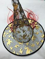 Шляпа ведьмы с волосами 37см (3 ЦВЕТА)
