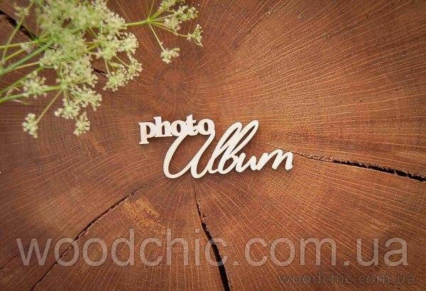 "Чипборд ""photo album"""