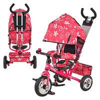 Велосипед детский трехколесный (надувные колеса) Turbo 5361., фото 1
