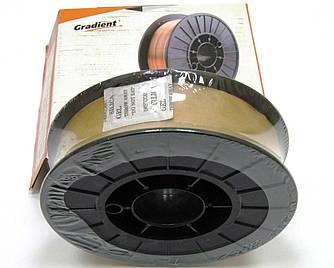 Омедненная проволока(СВ08Г2С) ER70S-6 д. 0,6 мм, кассета 5кг