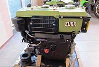 Двигатель дизельный на мотоблок Зубр R190 ручной стартер(9,6 л.с)