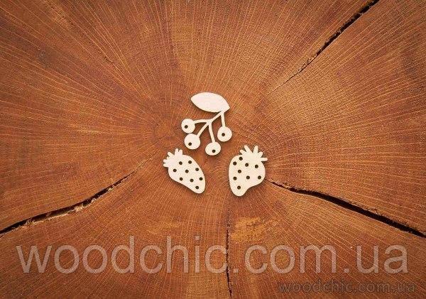 Чипборд Набор Лесные ягоды