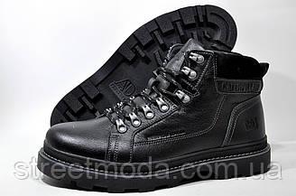 Мужские зимние ботинки в стиле Caterpillar Winter, кожа
