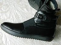 Ботинки мужские кожаные PERFORMANCE на змейке