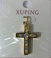 62 Подвески и кулоны кресты. Позолоченные кулоны Xuping оптом