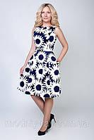 Женское платье в цветы