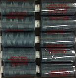 Нитка швейная 40/2 400ярд. D 519 серо бирюзовый, фото 2