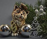 Cувенир керамический Собака повар 1770