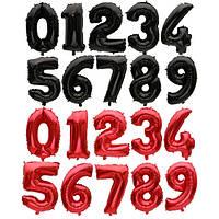 Фольгированные шары цифры огромный ассортимент