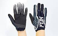 Кроссовые перчатки текстильные Fox 4829-3: размер M-XL