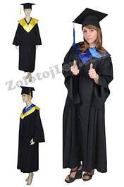 Мантии магистра, мантии выпускников черные