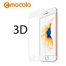 Защитное стекло Mocolo 3D 9H на весь экран для Apple iPhone 8 Plus белый
