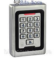 Кодовая клавиатура P-2000 c автономным контроллером и встроенным считывателем EM-Marine, Tesla