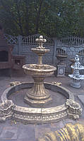 Фонтан для сада Венский малый+бассейн