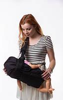 Рюкзак-кенгуру с капюшоном №8 Умка черный, фото 1