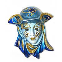 Маска венецианская декоративная из керамики