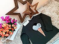 Батник для девочки Ice cream Оптом и в розницу Турция 5-13 лет  Little star, фото 1