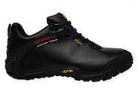 Зимние мужские кроссовки Merrell Continuum Goretex Black,  Р. 42