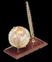 Глобус настольный с ручкой, орех 0910wdn