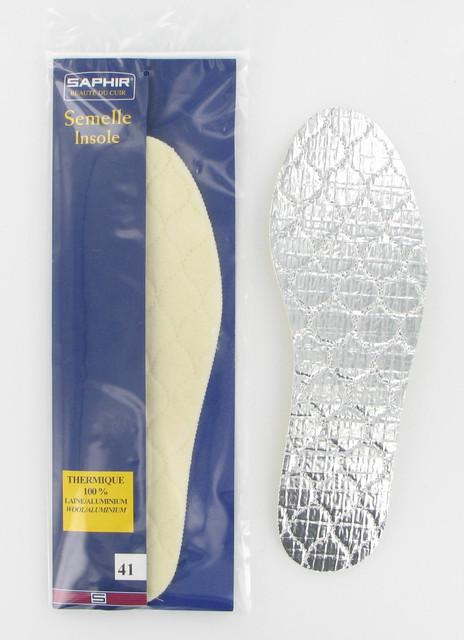 Стелькитермоизоляционные излатексной пеныи фольгиSaphirThermique 100% Laine Aluminium. 207