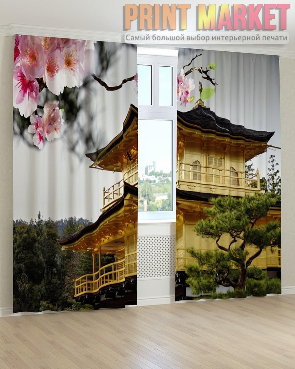 Фото шторы китайский желтый дом