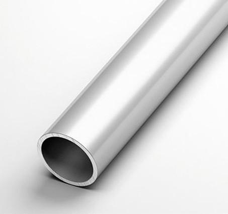 Труба кругла алюмінієва 25х4 трудова книжка без покриття