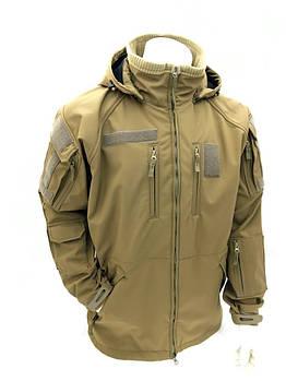 Куртка софтшелл СпН однотонная