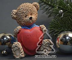 Cувенир керамический Мишки с сердцем 1754