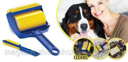 Липкий валик для уборки Sticky Buddy,Валик для уборки,Липкий валик, фото 3