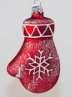 Формовая игрушка из стекла Варежка, фото 1