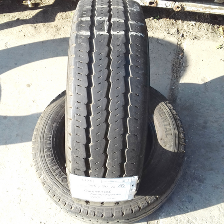 Бусовские шины б.у. / резина бу 205.70.r15с Continental Vanco 8 Континенталь