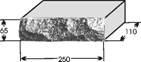 Кирпич силикатный рельефный одинарный
