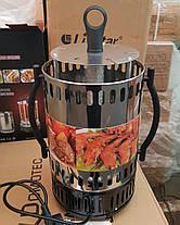 Электрошашлычница BOXIYA BXY-1306 (6 шампуров) 1350W, фото 3