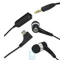 Наушники с микрофоном Samsung S8300 AEP439 вакуумные черные