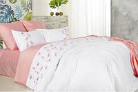 Постельное белье Сатин Фламинго розовый