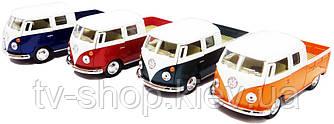 Машинка Метал Kinsmart інерційна, 1:34 1963 Voltsvagen, 4 кольори