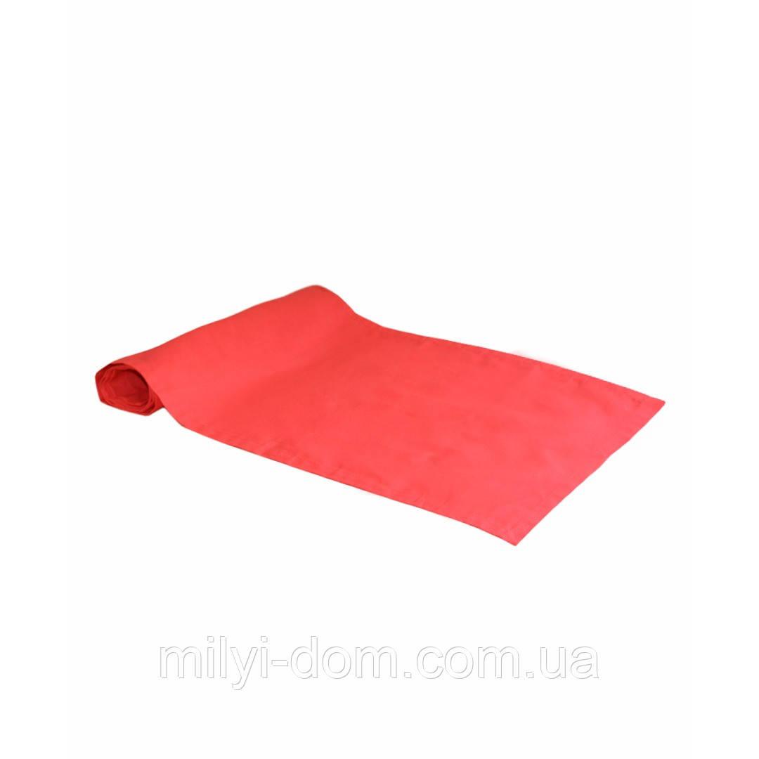 "Дорожка на стол  ""Красная"", 40х120 см"